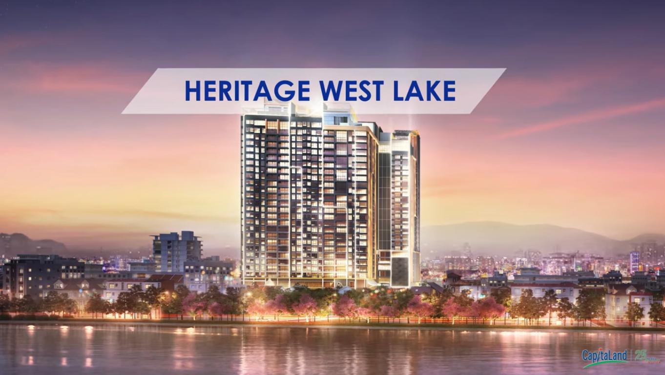 tổng quan dự án heritage hồ tây